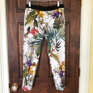 Botanical Print Pants